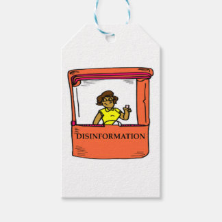 DISINFORMATION GIFT TAGS