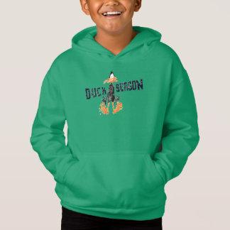 """Disintegrated DAFFY DUCK™ """"Duck Season"""" Hoodie"""
