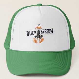 "Disintegrated DAFFY DUCK™ ""Duck Season"" Trucker Hat"