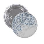 Disintegrating Design 1 Inch Round Button