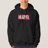 Disintegrating Marvel Logo Hoodie