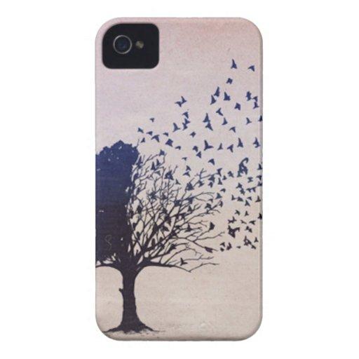 Disintegrating Tree iPhone 4 Case-Mate Cases