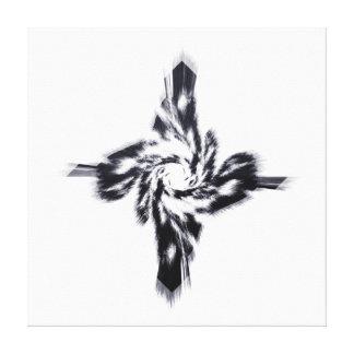 Disintegration Stretched Canvas Print