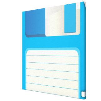 Diskettes Impresiones En Lona Estiradas