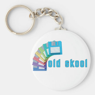 Diskettes viejas de Skool Llaveros