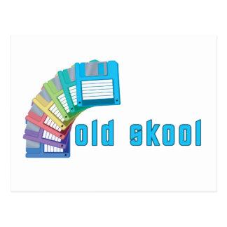 Diskettes viejas de Skool Postales