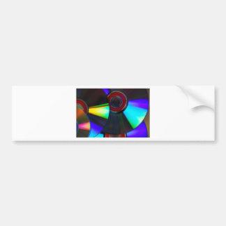 Disks Bumper Sticker