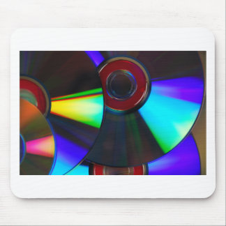 Disks Mouse Pad