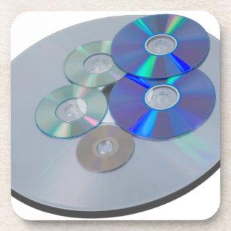 DisksOfManySizes010415.png Beverage Coaster