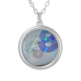 DisksOfManySizes010415.png Round Pendant Necklace