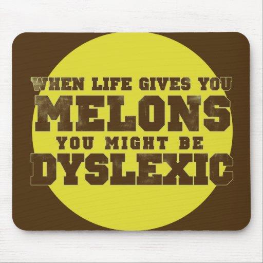 Dislexia Alfombrillas De Ratones