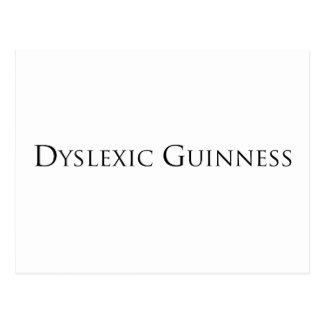 dislexic guiness- black.png postcard