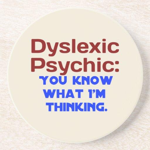 Disléxico psíquico posavasos manualidades