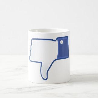 Dislike 02 coffee mug