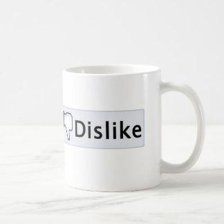 DISLIKE BUTTON Coffee Mug