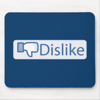 Dislike Button Mouse Pad