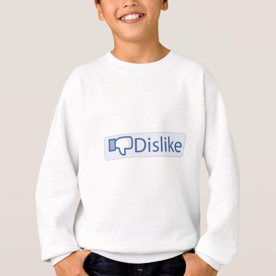 Dislike Button Sweatshirt