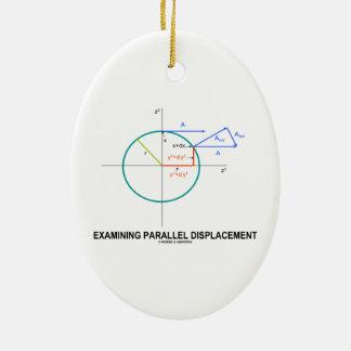 Dislocación paralela de examen (geometría) adorno para reyes