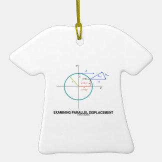 Dislocación paralela de examen (geometría) adorno