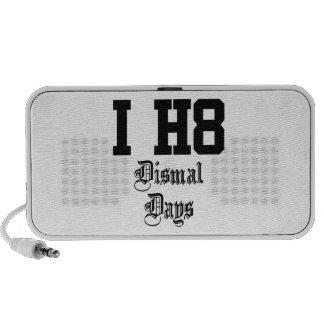 Dismal days travelling speakers
