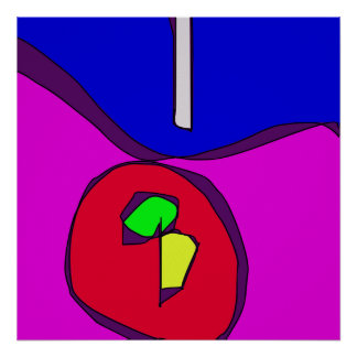 Dismantled Apple Poster