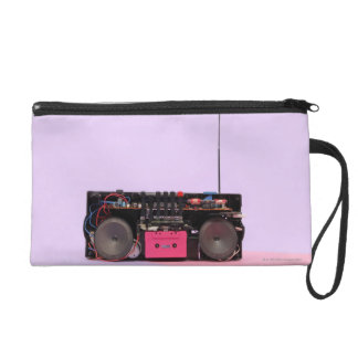 Dismantled Portable Stereo Wristlet Clutch