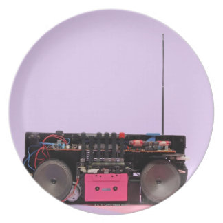 Dismantled Portable Stereo Plate