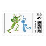 Disney A Bug's Life Flik and Manny Postage Stamp