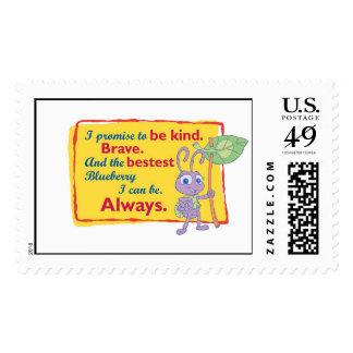 Disney A Bug's Life Princess Dot Motto Postage Stamp