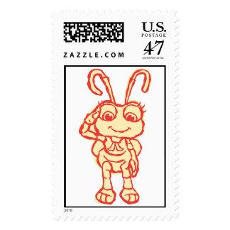Disney A Bug's Life Princess Dot Postage Stamp