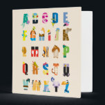 "Disney Alphabet Mania 3 Ring Binder<br><div class=""desc"">This fun Disney alphabet features all your favorite Disney and Pixar characters.</div>"