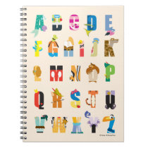 Disney Alphabet Mania Notebook