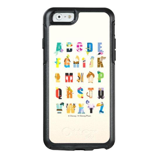 half off 431fa ce3b9 Disney Alphabet Mania OtterBox iPhone Case