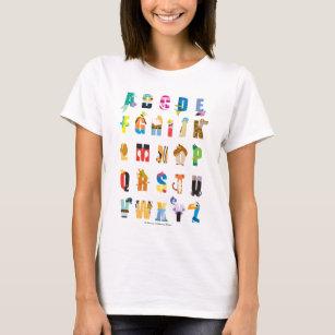 Disney Alphabet Mania T-Shirt