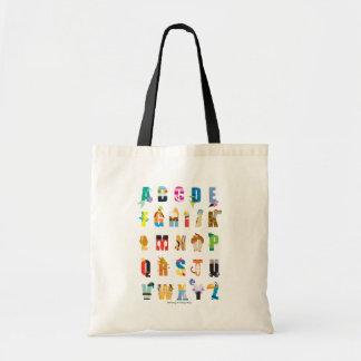 Disney Alphabet Mania Tote Bag