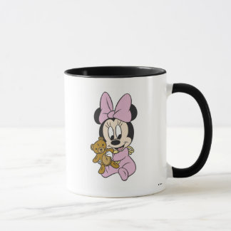 Disney Baby Minnie Mouse With Teddy Bear Mug