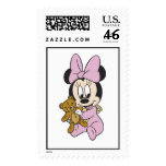 Disney Baby Minnie Mouse With Teddy Bear Stamps