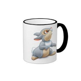 Disney Bambi Thumper sitting Ringer Coffee Mug