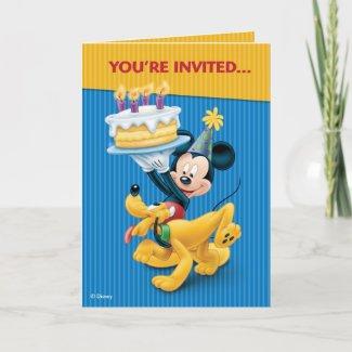 Disney Birthday Party zazzle_card
