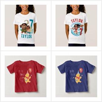 Disney Birthday Party T-Shirts
