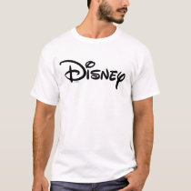 Disney Black Logo T-Shirt