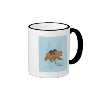 Disney Brother Bear Kenai and Koda Walking Ringer Mug
