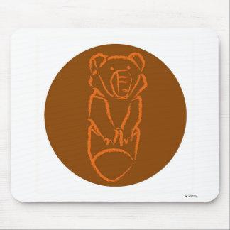 Disney Brother Bear Koda design Mouse Pad