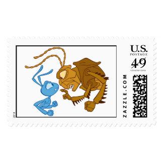 Disney Bug's Life Flik and Hopper Postage Stamps