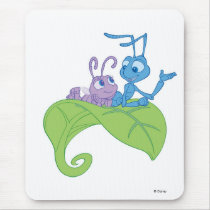 Disney Bug's Life Princess Dot and Flik Mouse Pad