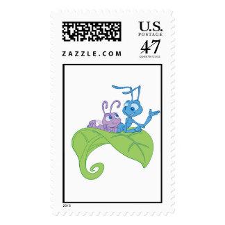 Disney Bug's Life Princess Dot and Flik Stamp