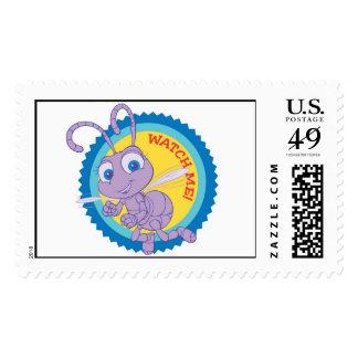 Disney Bug's Life Princess Dot flying. Stamp