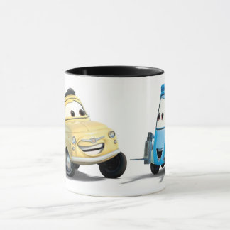 Disney Cars Guido and Luigi Mug