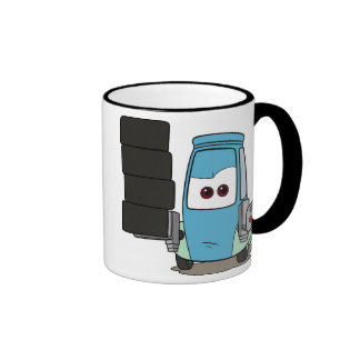 Disney Cars Guido Standing Ringer Coffee Mug