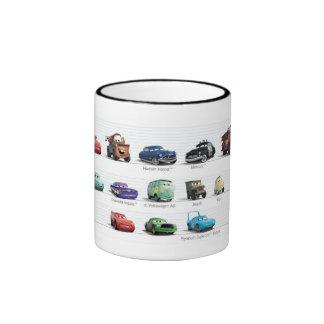 Disney Cars Lineup Ringer Mug